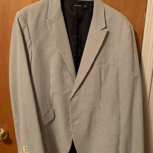 Seersucker blazer
